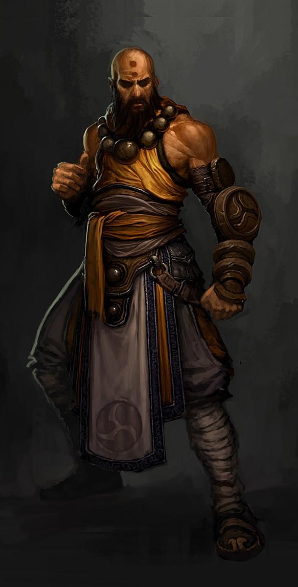 Монах (Monk) - Классы персонажей - Diablo