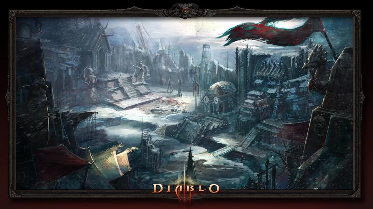 Поселение варваров - Земли Ужаса (Dreadlands) - Санктуарий - Diablo