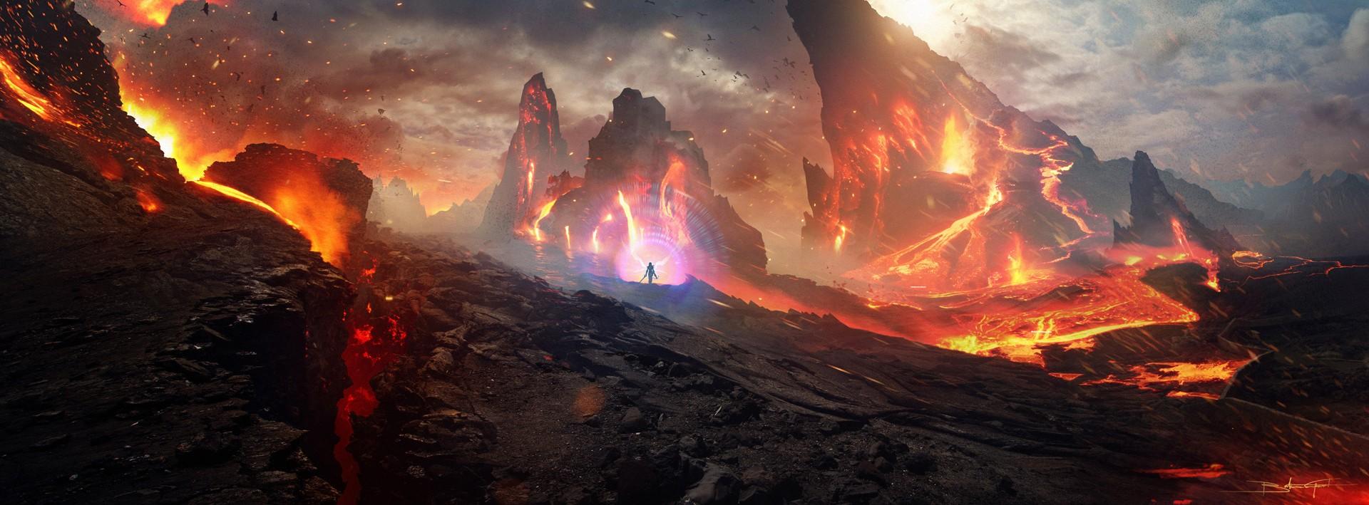 Подножие горы Арреат - Земли Ужаса (Dreadlands) - Санктуарий - Diablo