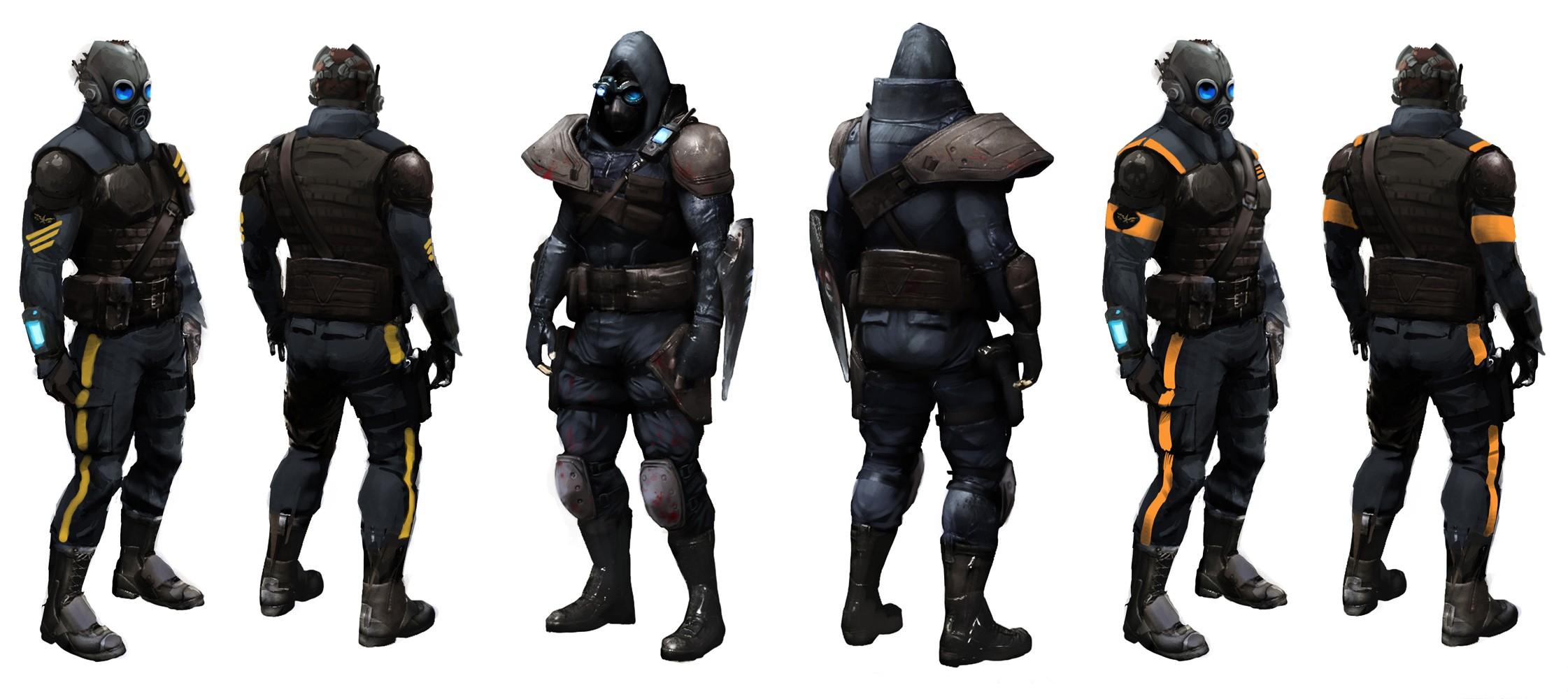 Blackwatch - Военные - Prototype
