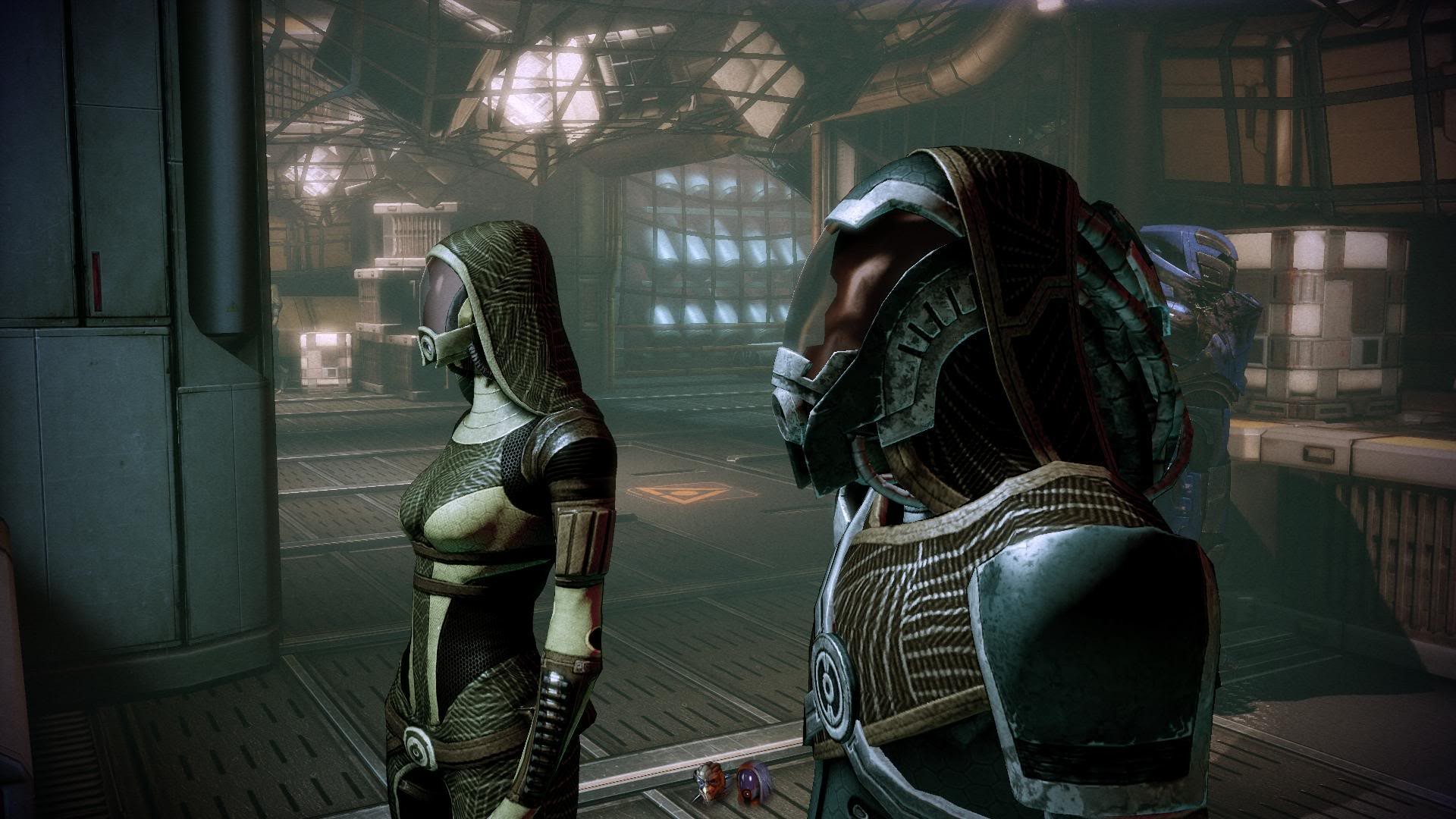 Обычные кварианцы - Кварианцы (Quarian) - Расы - Mass Effect