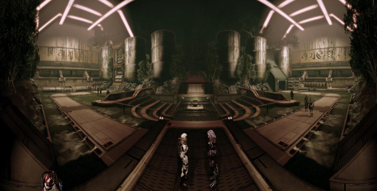 Интерьер корабля кварианцев - Кварианцы (Quarian) - Расы - Mass Effect