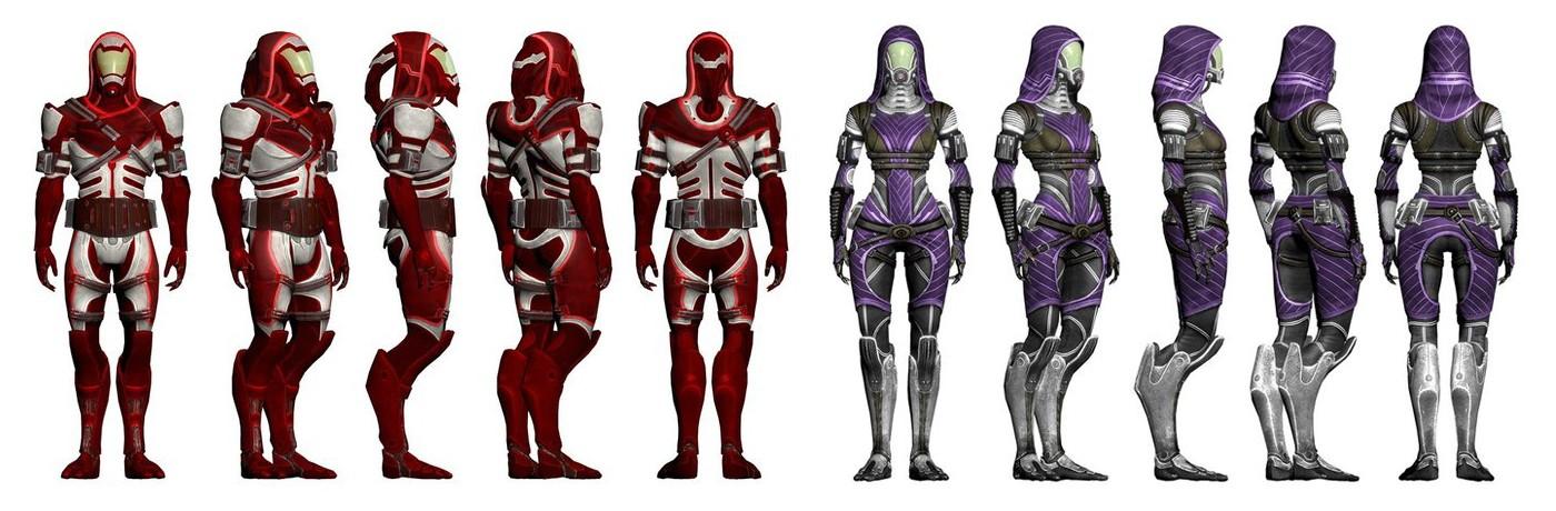 Кварианцы (Quarian) - Расы - Mass Effect