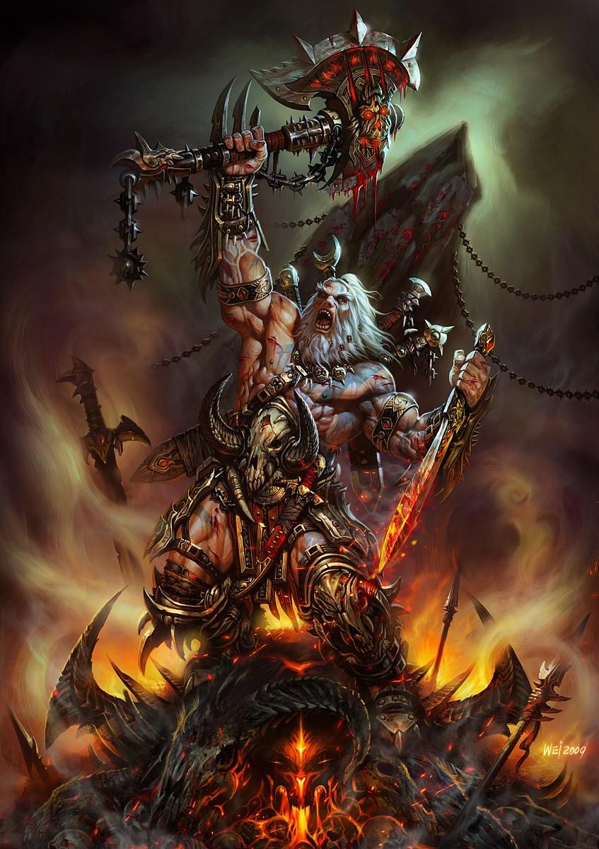 Варвар (Barbarian) - Классы персонажей - Diablo
