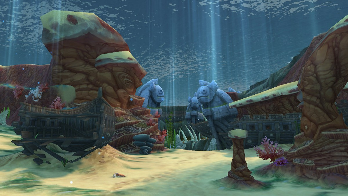 Подводное царство - Территории - Аллоды