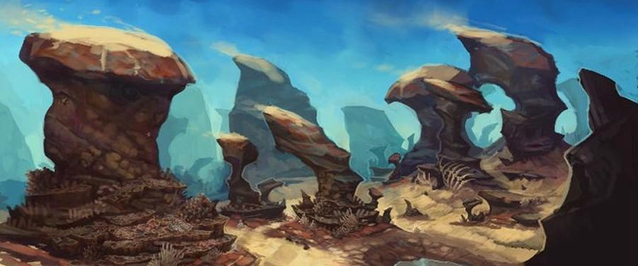 Мертвое море - Аллоды