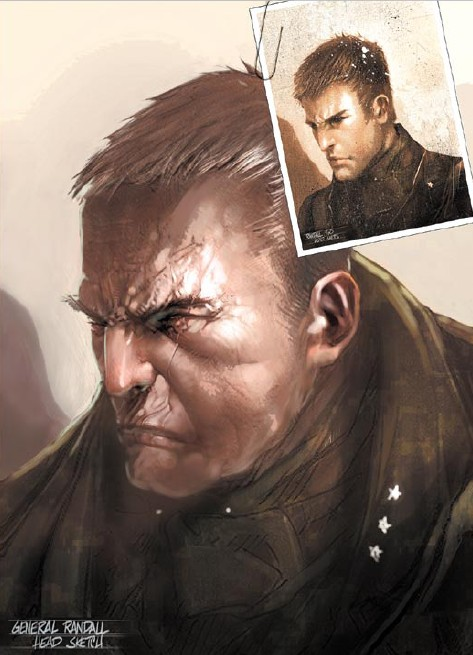 Питер Рэндэл (Peter Randall) - Военные - Prototype
