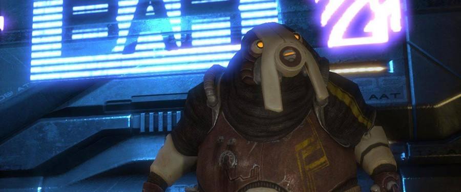 Волусы - Mass Effect