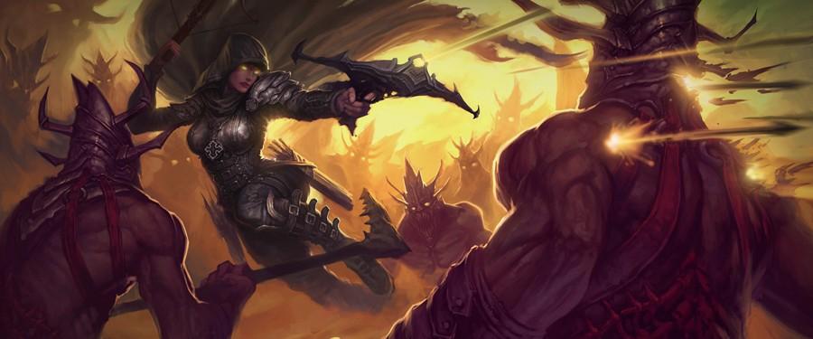 Охотник на демонов - Diablo