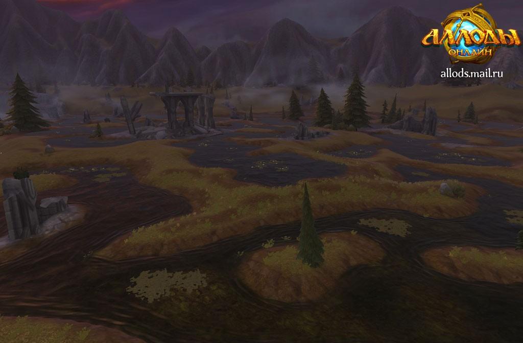 Туманные Земли - Территории - Аллоды
