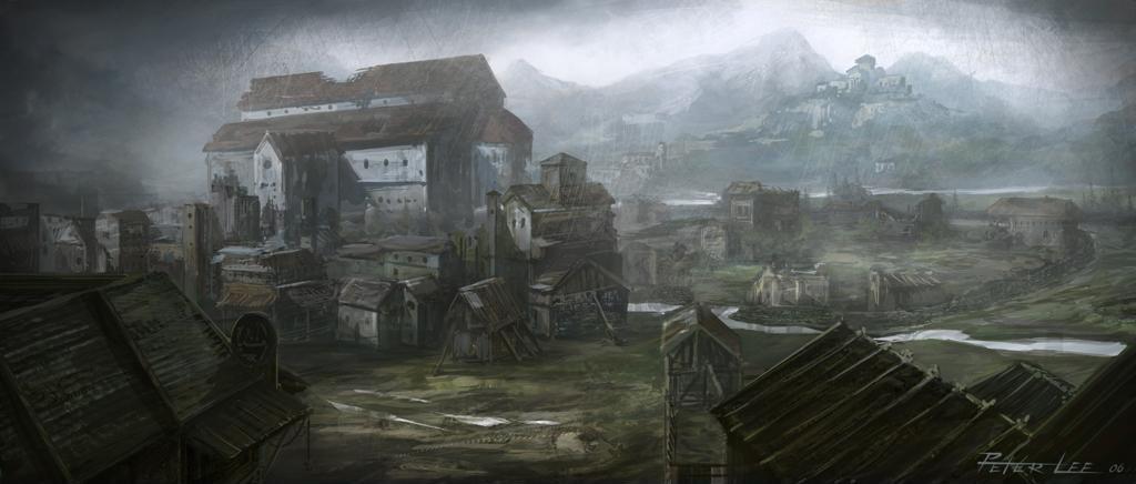 Вид на Новый Тристрам - Хандурас (Khanduras) - Санктуарий - Diablo