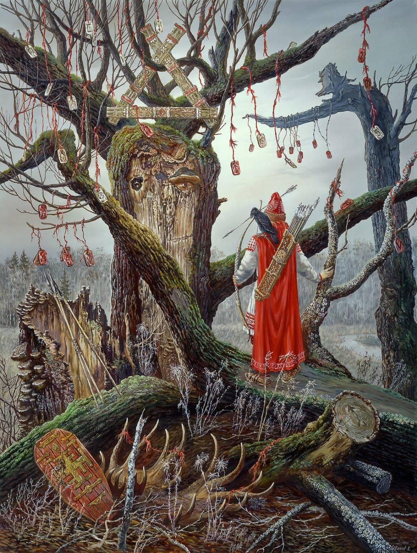 Капище Перуна - Перун - Божества - Славянская мифология
