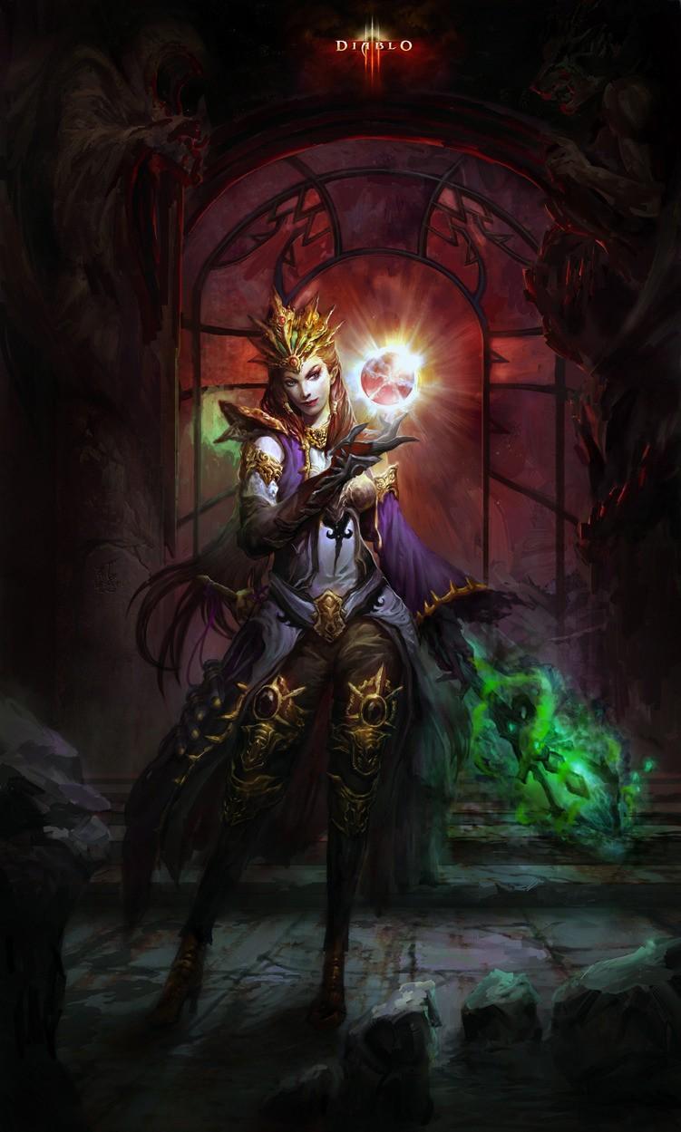 Чародей (Wizard) - Классы персонажей - Diablo