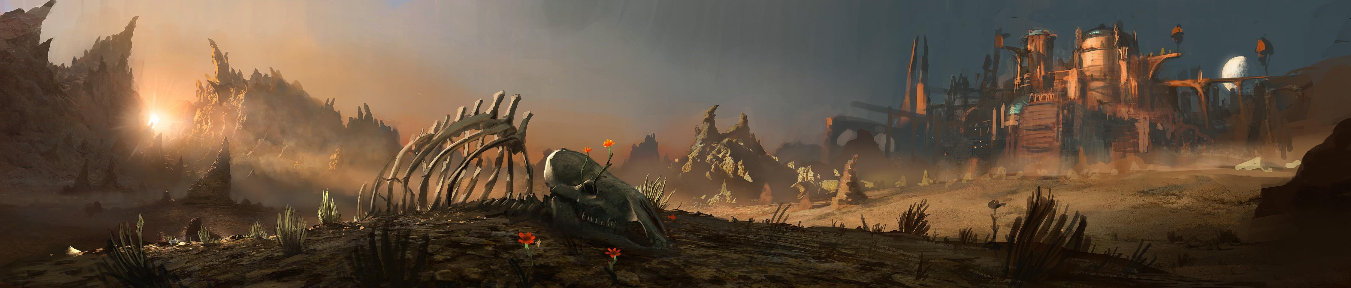 Смертоносная пустыня Аранох - Аранох (Aranoch) - Санктуарий - Diablo