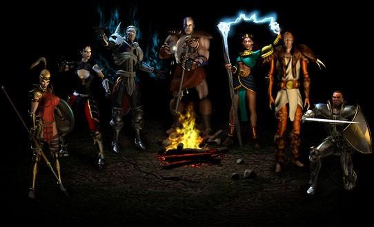 Классы персонажей Diablo 2 - Классы персонажей - Diablo