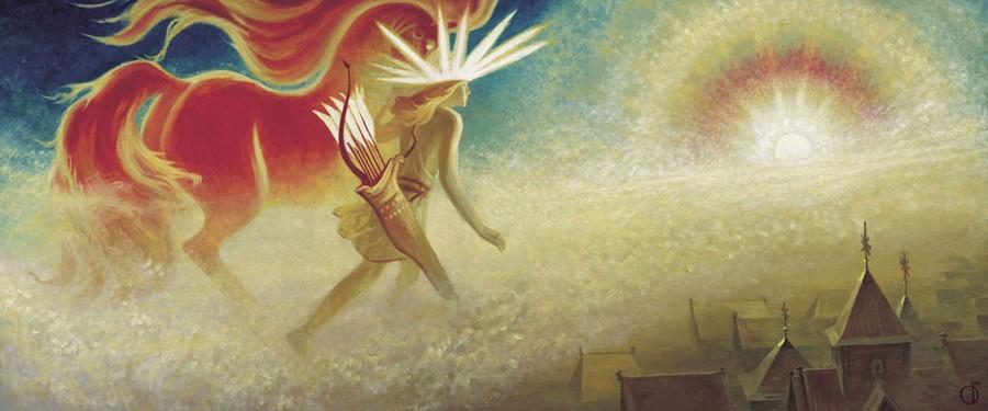 Даждьбог - Славянская мифология
