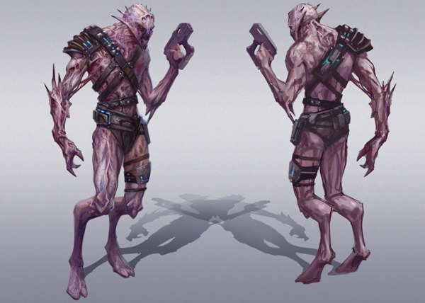 Ворка (Vorcha) - Расы - Mass Effect