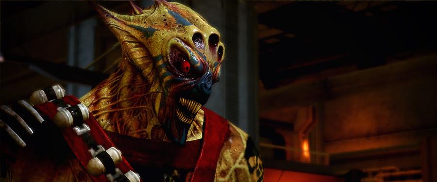 Ворка - Mass Effect