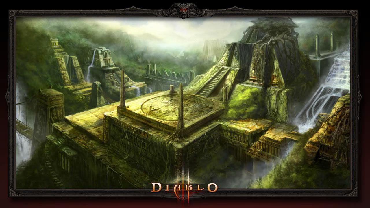 Руины мертвой цивилизации - Джунгли Тораджана (Torajan Jungles) - Санктуарий - Diablo