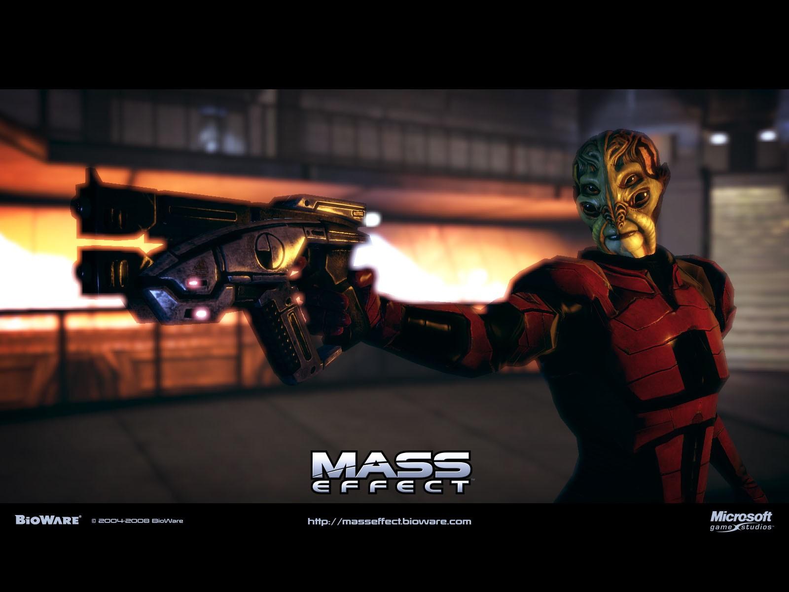 Батарианцы (Batarian) - Расы - Mass Effect