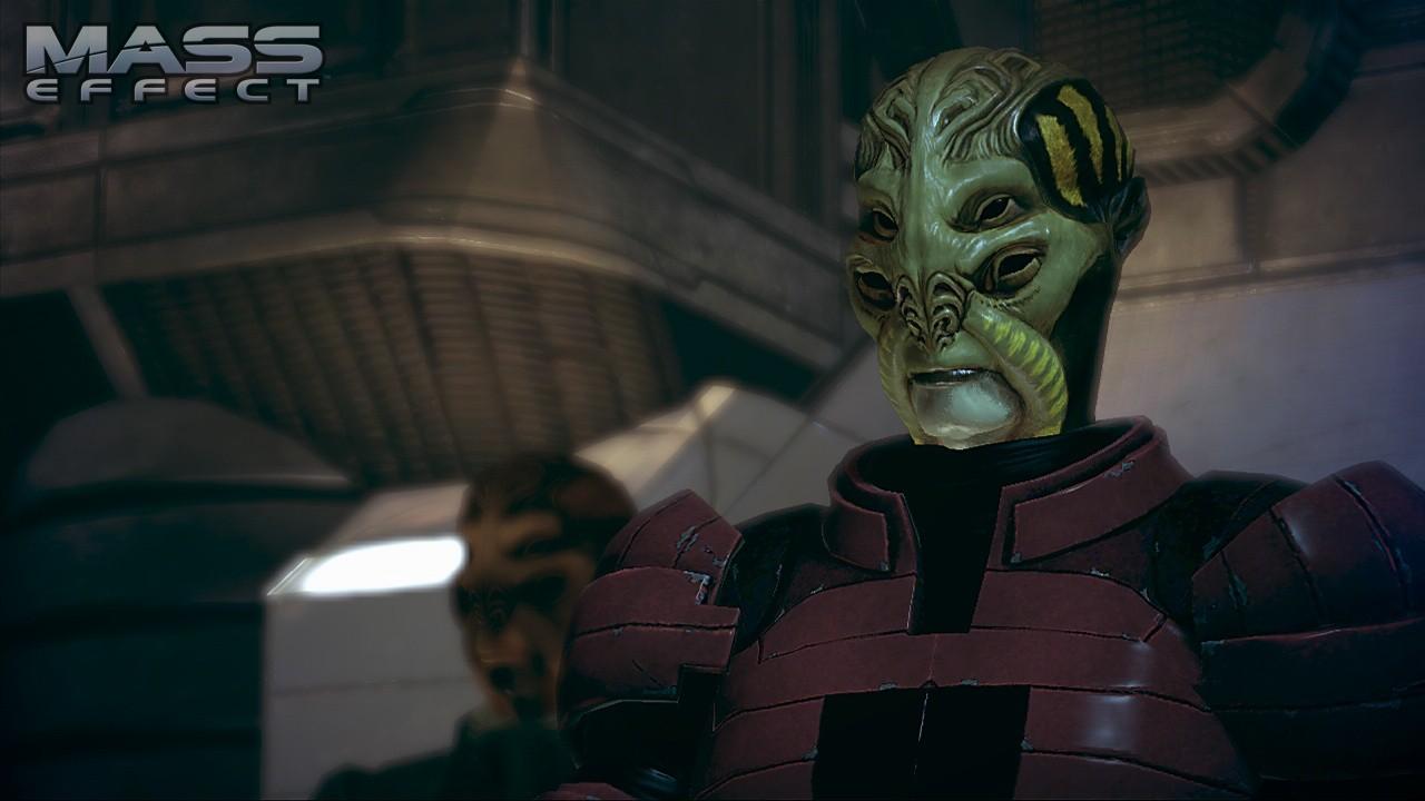 Внешний вид батарианца - Батарианцы (Batarian) - Расы - Mass Effect