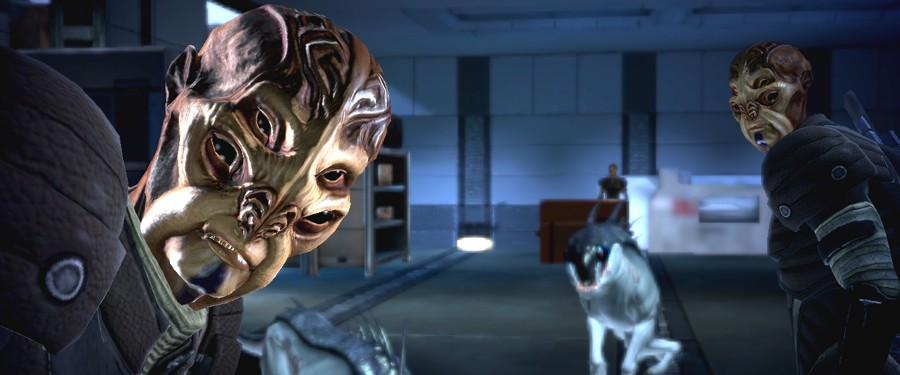 Батарианцы - Mass Effect