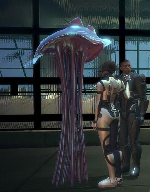 Ханары (Hanar) - Расы - Mass Effect