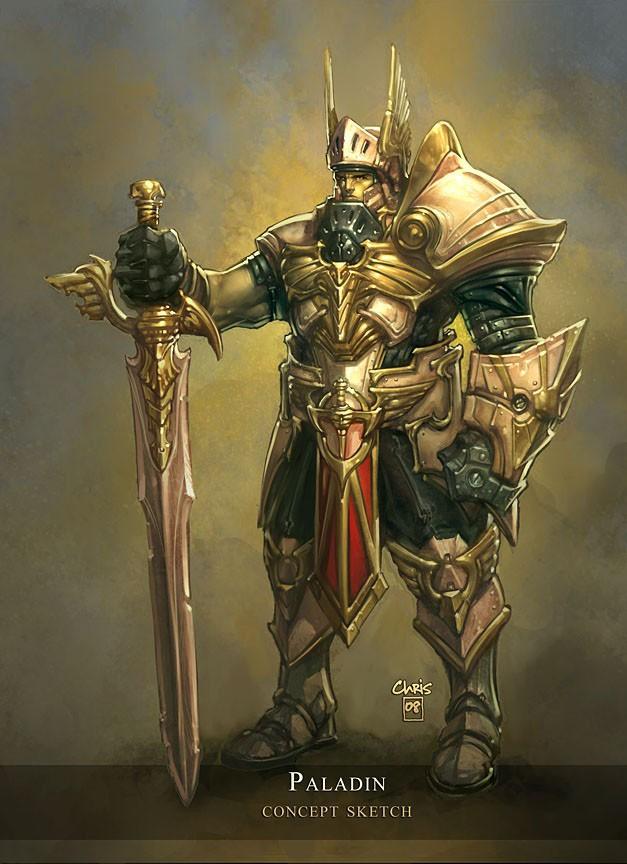Паладин (Paladin) - Классы персонажей - Diablo