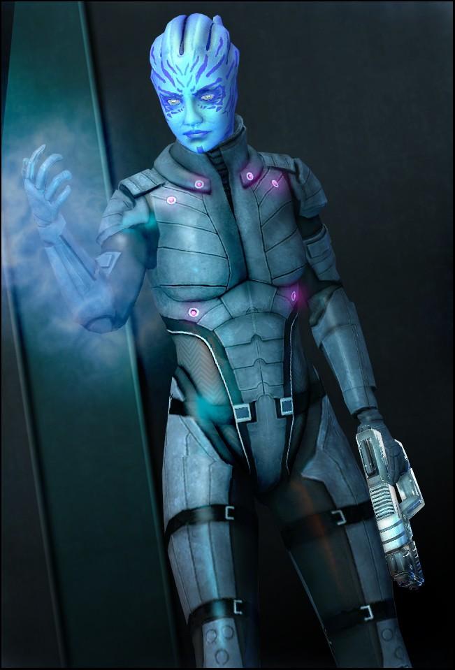 Азари-охотница - Азари (Asari) - Расы - Mass Effect