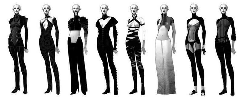 Азари (Asari) - Расы - Mass Effect