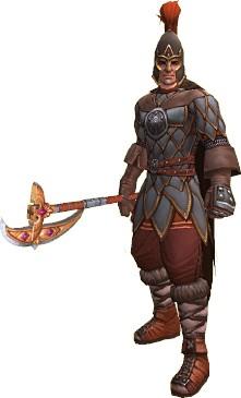 Воин - Классы персонажей - Аллоды