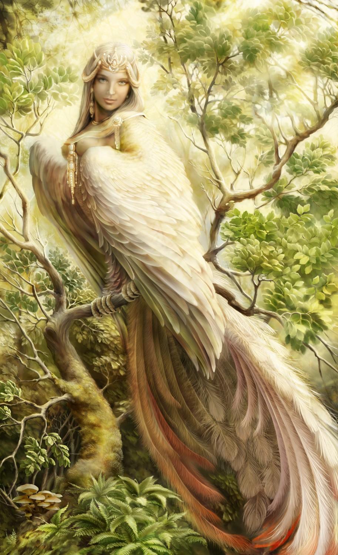 Гамаюн - Существа - Славянская мифология