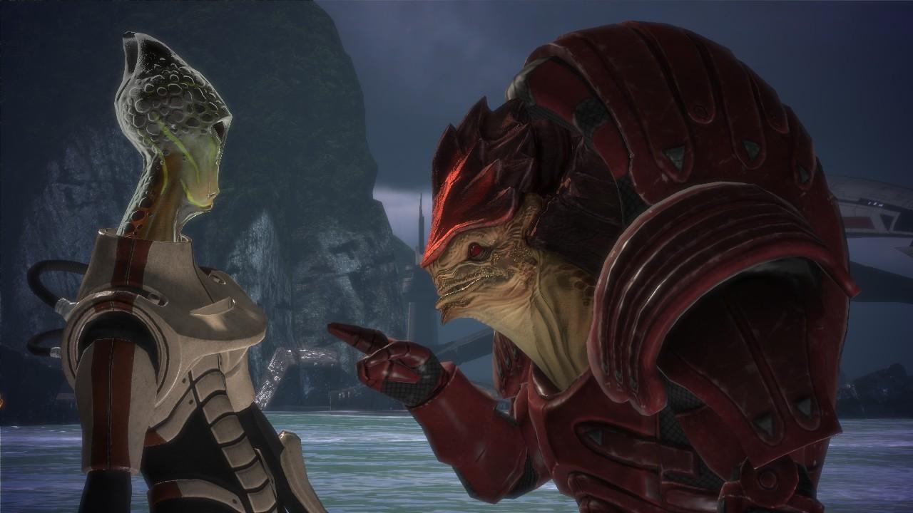 Саларианцы (Salarian) - Расы - Mass Effect